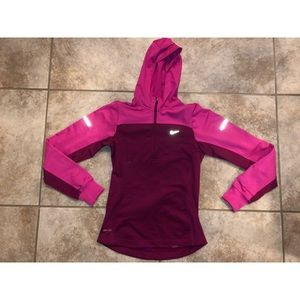 Nike DriFit Athletic Half zip sweatshirt